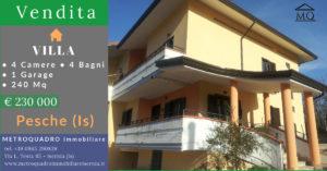 Vendita Villa Bifamiliare Pesche Isernia